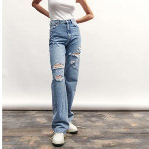 Zara The 90s High Rise Jeans 6